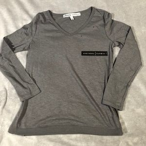 Absolutely Famous Long Sleeve T-Shirt Sz Small NWT